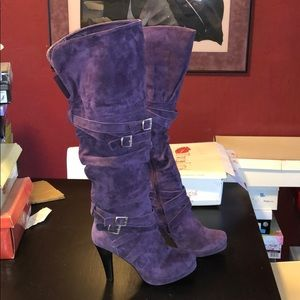 Two Lips Lush over the knee swashbuckler boots